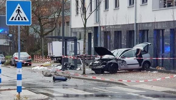 Atropello masivo deja al menos un muerto y varios heridos en Recklinghausen, Alemania. (Captura: Twitter/@RAW_RESEARCH)