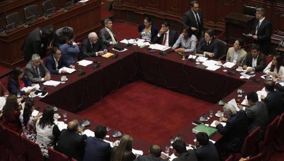 La Comisión Permanente del Congreso tiene como único tema en su agenda la denuncia constitucional contra Chávarry. (Foto: GEC)