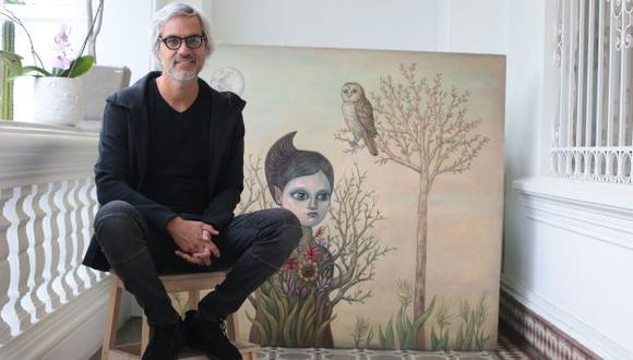 Fito Espinosa en su duodécima exposición individual.