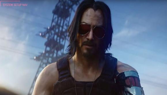 Keanu Reeves será uno de los protagonistas del videojuego.