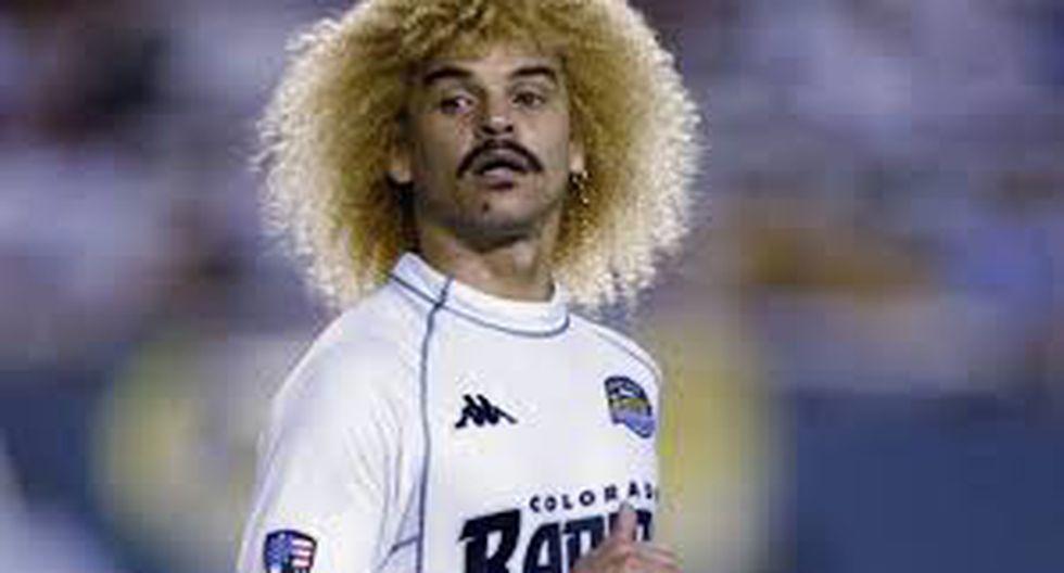 Carlos Valderrama - Tampa Bay Mutiny (1996-2001), Miami Fusion (1998-1999), Colorado (2001-2002) (Foto: Colorado Rapids)