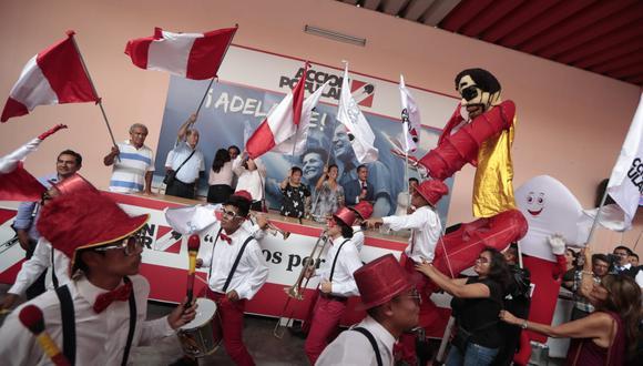 Acción Popular consiguió 25 representantes en el próximo Congreso de la República. Fotos: Hugo Pérez