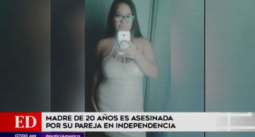 Joven viajó de su natal Requena (Loreto) a Lima para pasar unos días con el padre de su hijo. (América TV)