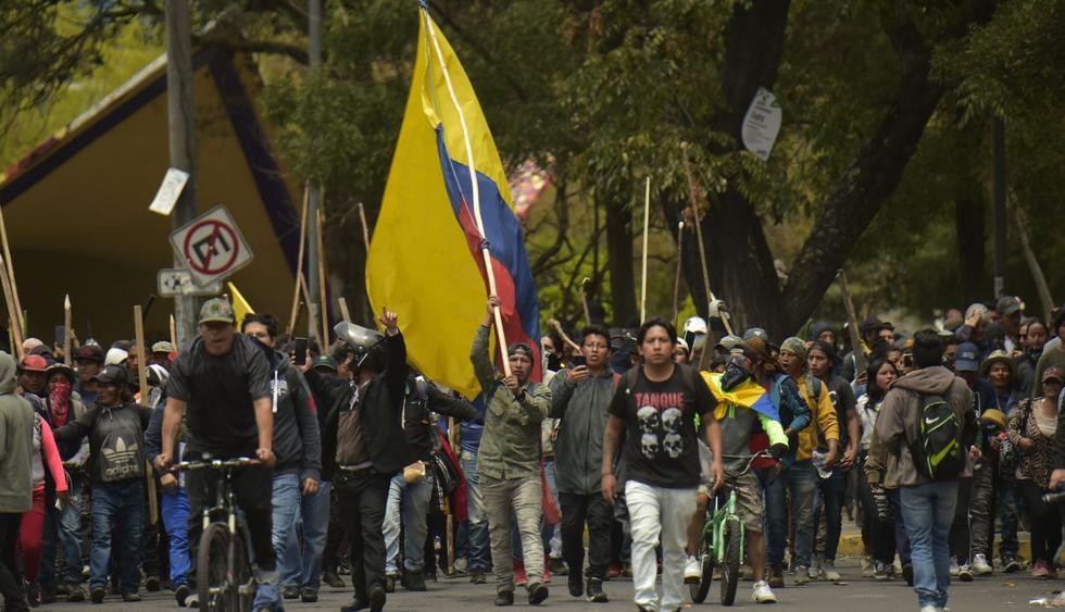 Crisis en Ecuador: Así amanece el país tras la llegada de miles de indígenas. (Foto: AFP)
