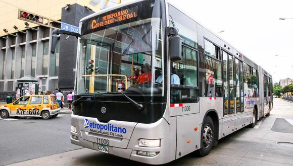 MTC dijo que tanto el Metropolitano como los corredores mantendrán servicios en cuarentena. (Foto: Protransporte)