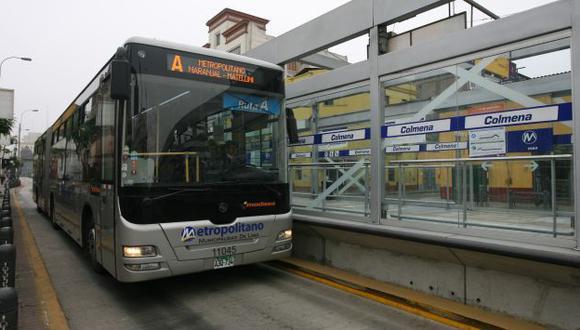 Los usuarios del Metropolitano deben tomar sus precauciones. (Perú21)