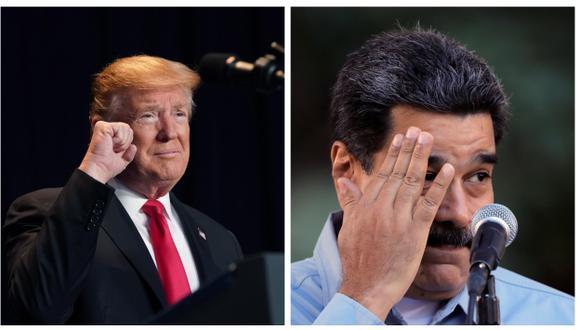 Gobierno de Donald Trump publicó un video sobre Nicolás Maduro (Efe/Reuters).
