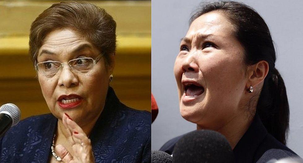 Excongresista de Fuerza Popular salió en defensa de la lideresa del Partido Naranja. (Composición)