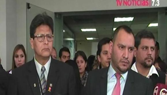 Sindicato del CNM quiere ser parte de la Comisión de Justicia del Congreso. (TV Perú)