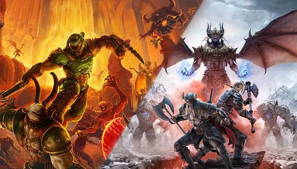 'DOOM Eternal' y 'The Elders Scrolls Online' llegarán a 'PS5' y Xbox Series X vía una actualización.