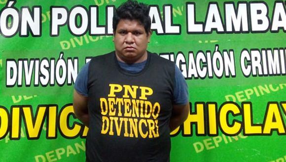 Lambayeque: el sujeto fue detenido cuando se encontraba reunido con 13 menores de edad al interior de un predio de Chiclayo. (Foto: PNP)