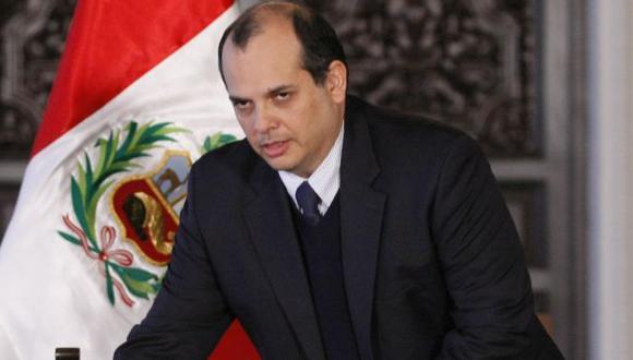 Al congreso. Castilla sustentará el presupuesto este miércoles. (Luis González)
