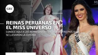 ¿Qué reinas de belleza peruanas han llegado más lejos en el Miss Universo?