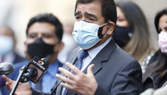 José Williams, vocero de Avanza País, cuestionó tres nombramientos en el gabinete de Mirtha Vásquez. (Foto: César Bueno / @photo.gec)