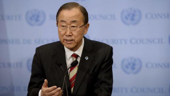 Ban Ki-moon dejará su cargo a fines de 2016 (EFE).