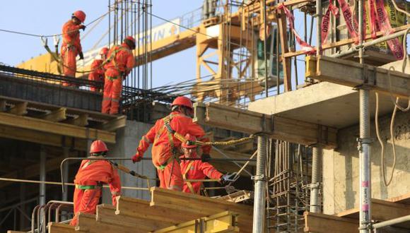 El sector construcción es uno de los motores de la economía. (USI)
