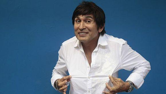 El humorista dijo que la próxima semana lanza su disco de cumbia. (USI)