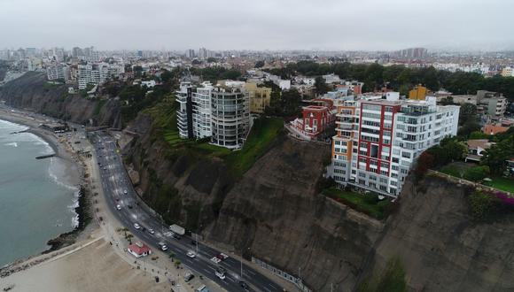 Ing. Delgado Sayán: Acantalidos de la Costa Verde están desprotegidos ante un sismo y un tsunami  |Foto: Carlos Hidalgo