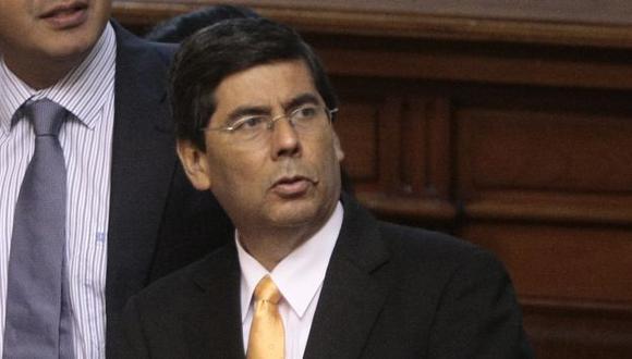 Delgado, de vocero a sucesor de Víctor Isla. (David Vexelman)