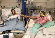 Conmovedora foto con su madre 24 horas antes de que esta muera por Covid-19 se vuelve viral