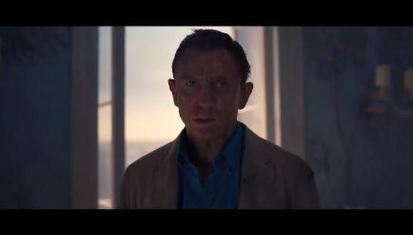 """""""No Time To Die"""": Mira el nuevo tráiler de la película de James Bond. (Foto: captura de video)"""