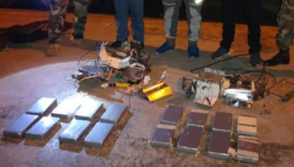Ica: intervienen camión por transportar 17 kilos de cocaína dentro de encomiendas