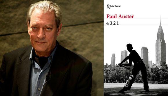 El libro de Paul Auster 4321, fue publicado en el 2017. (Internet)