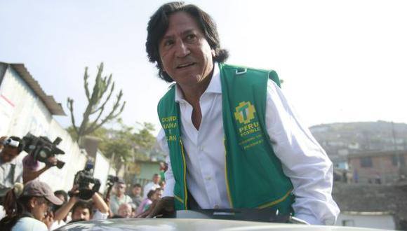 SIN SALIDA. Cada día se complica más la situación del expresidente Alejandro Toledo. (USI)