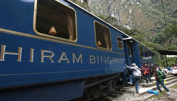 Trenes del servicio local y turístico salieron primero de Machu Picchu. (USI)