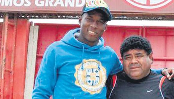 NO HABIDOS. Exfutbolista de Sporting Cristal y su supuesto hijo viajaron a comienzos de febrero. (Difusión)