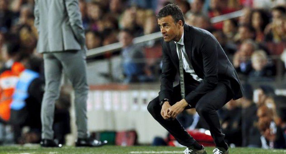 """Luis Enrique admite que a su equipo """"se le acabó el crédito"""". (Reuters)"""