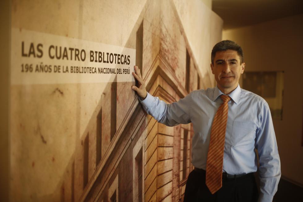Alejandro Neyra Sánchez juramentó hoy como el nuevo titular del Mincul. (Foto: GEC)