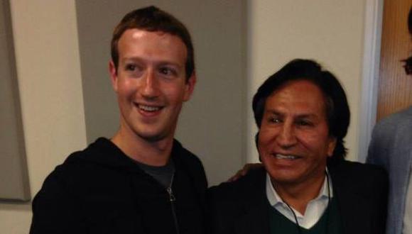 Zuckerberg y Toledo en Silicon Valley. (Facebook)