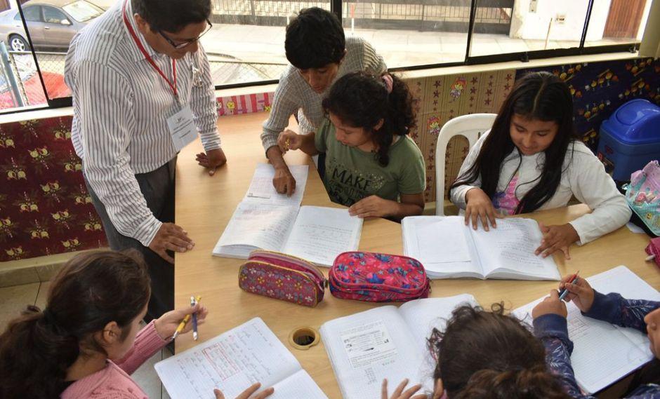 Las clases del reforzamiento escolar gratuito serán en la Casa de la Juventud de Pueblo Libre. (Difusión)