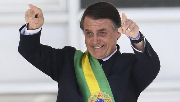 Jair Bolsonaro cumple 100 días en el poder de Brasil. (Foto: AFP)