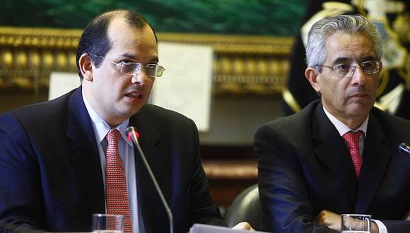 Luis Castilla se presentó ante la Comisión de Economía del Congreso. (Andina)