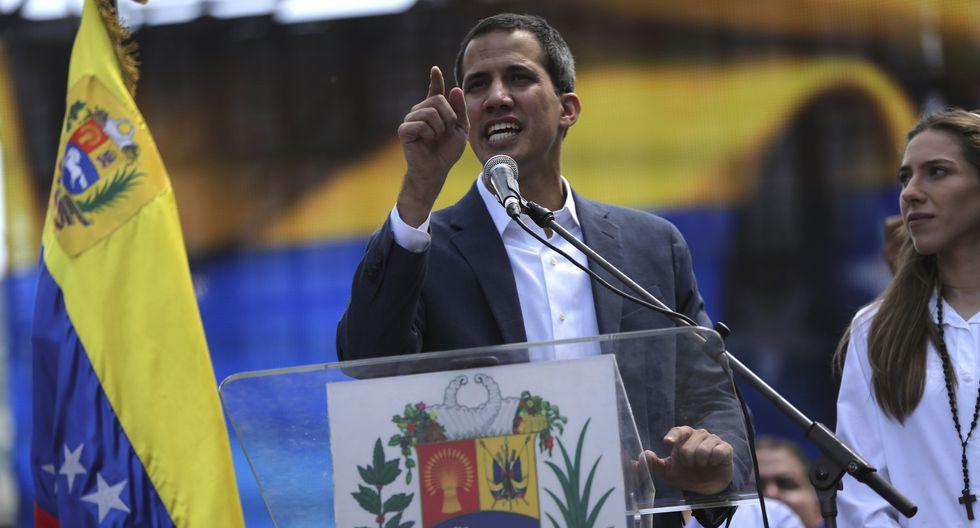 Guaidó anunció la víspera la instalación de centros de acopio de medicinas y alimentos en Colombia y Brasil. (Foto: AP)