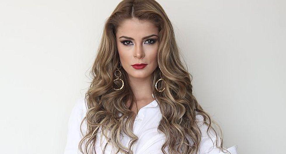 Laura Spoya aseguró que dejará 'Esto es guerra' y se preparará para el Miss Universo. (USI)