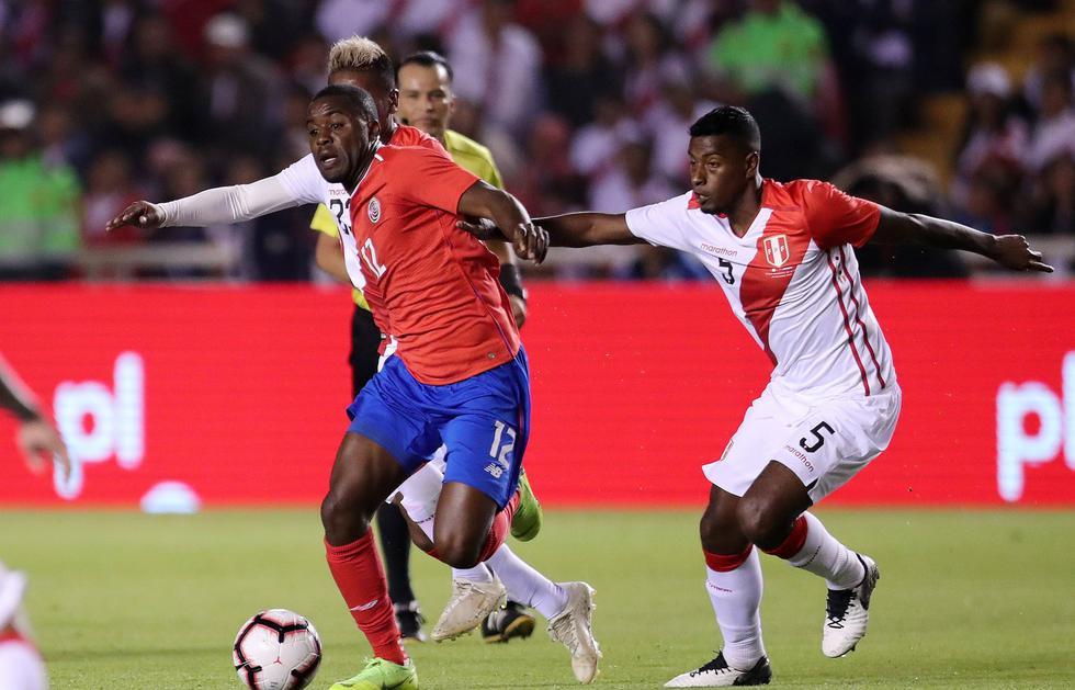 Perú se enfrenta a Costa Rica en partido amistoso FIFA. (Reuters)