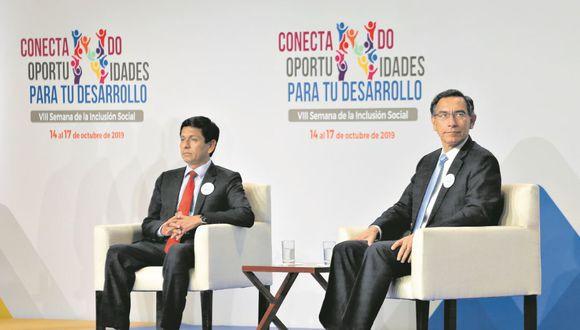 Meléndez aseguró que Vizcarra no le pidió explicaciones por las denuncias, sino que él mismo presentó su dimisión.   Foto/GEC