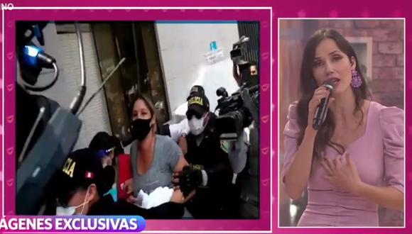 Sofía Franco: Maju Mantilla critica accionar de Álvaro Paz de la Barra contra su esposa. (Foto: Captura de video)
