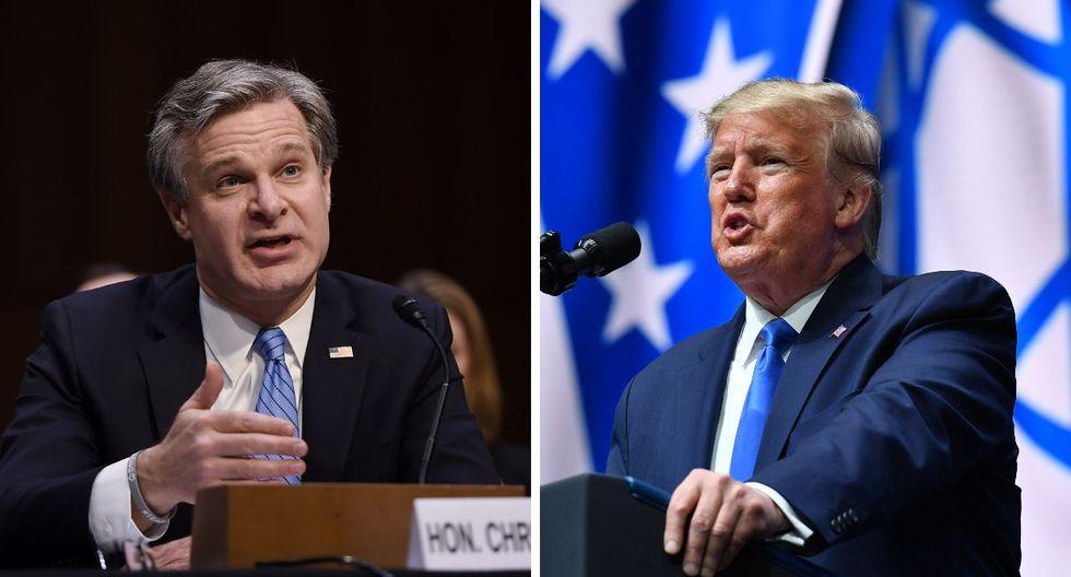 El FBI abrió una investigación contra Trump por la interferencia rusa en la campaña política del presidente en el 2016. (Foto: AFP)