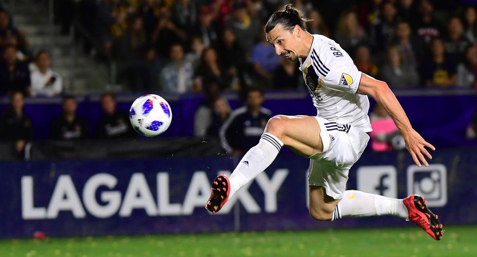 Zlatan Ibrahimovic - LA Galaxy (2018-2020) (Foto: AFP)