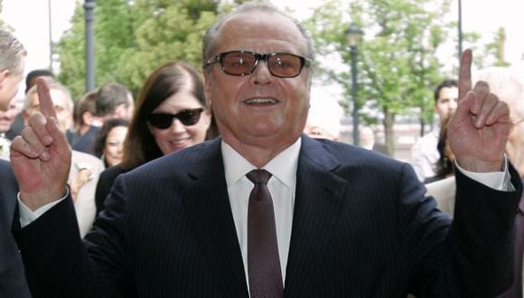 Jack Nicholson durante actividad en Nueva Jersey en 2010. (AP)
