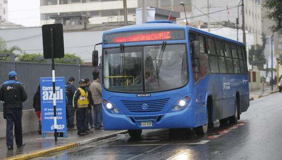 Buses causan caos en Miraflores. (USI/Referencial)