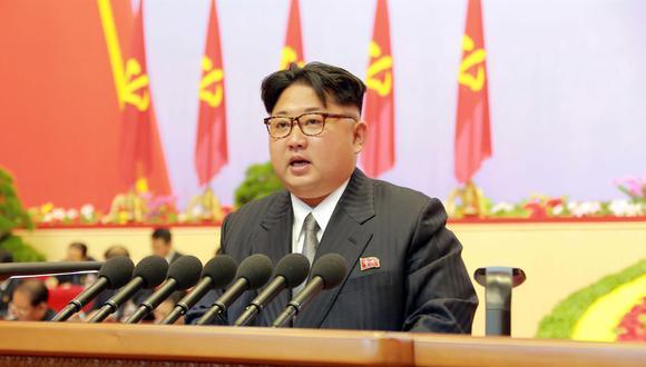 Kim Jong-un, líder de Corea del Norte (El Universo).