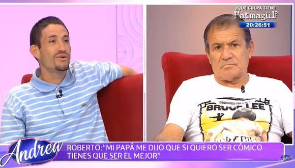Miguel Barraza pide ayuda para rescatar a su hijo de las drogas. (Foto: Captura ATV)