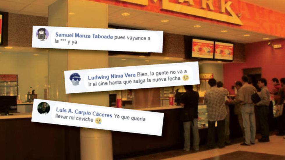 En redes sociales, los usuarios respondieron tan rápido como los cines al nuevo pronunciamiento de Indecopi.