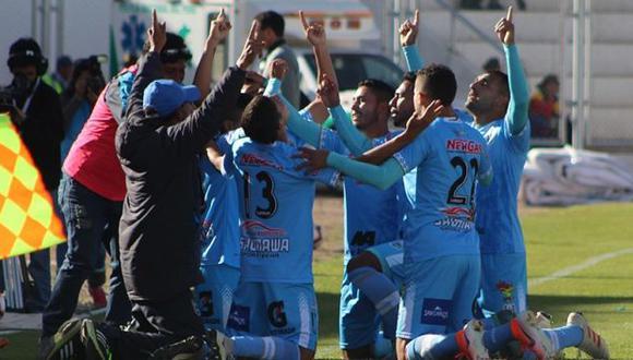 Binacional cumple su segunda temporada en la Primera División del fútbol peruano. (Foto: Club Deportivo Binacional FC)