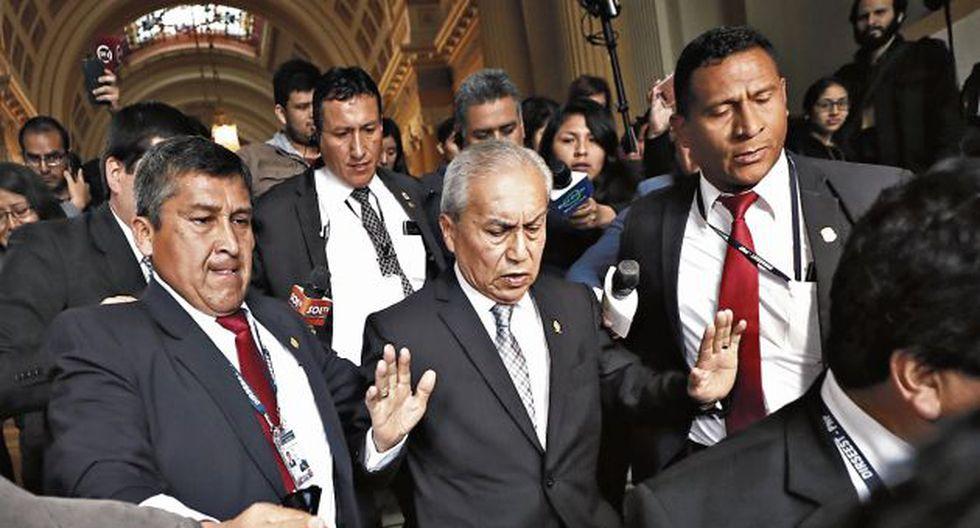 Pedro Chávarry podría quedar pronto fuera de la Fiscalía. (GEC)